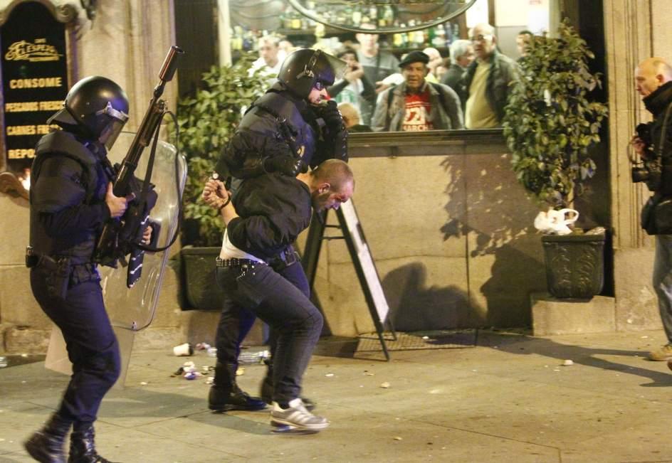 Detenido en Madrid
