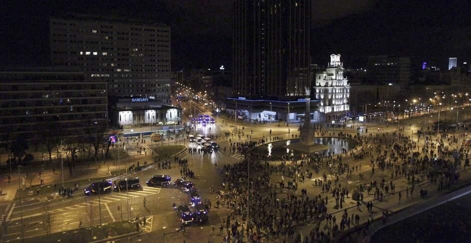 Vista general de la Plaza de Colón
