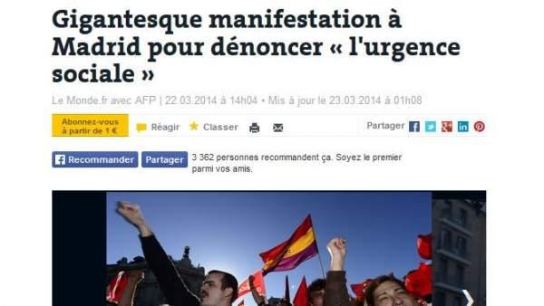 En Le Monde