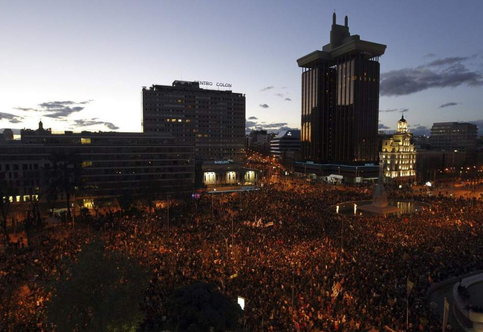 Panorámica de la manifestación