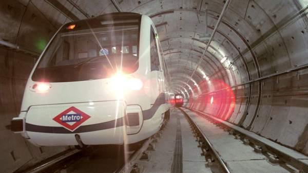 Túnel del metro de Madrid