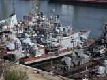 Barcos en Ucrania