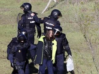 Primeras detenciones del día