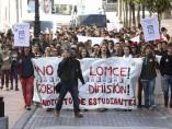 Comienza la manifestación de estudiantes