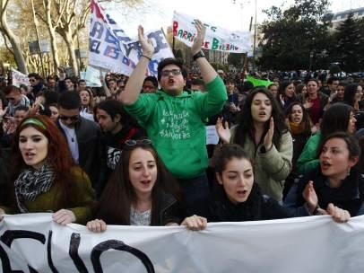 Manifestaci�n en Madrid