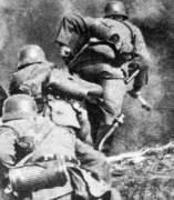Soldados en guerra