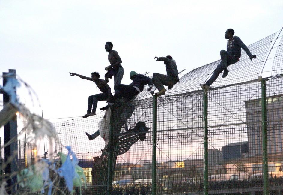 Nuevo intento de salto de la valla de Melilla