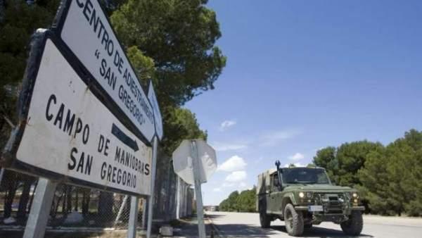 Muere un soldado al no abrirse su paracaídas durante un ejercicio en San Gregorio