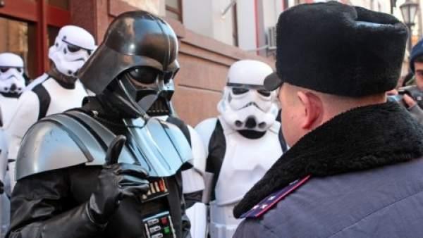 Darth Vader se presentará a las elecciones presidenciales de Ucrania