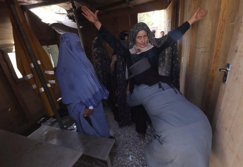 Preparación de elecciones en Afganistán