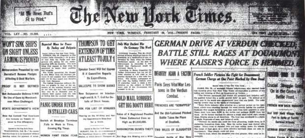 Causas de la entrada de EEUU en la Primera Guerra Mundial