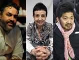 Los chefs Carlos Campillo (francés), Carme Ruscalleda (catalana), Keisuke Matsushima (japonés) y José Quetzalcoalt (mexicano).