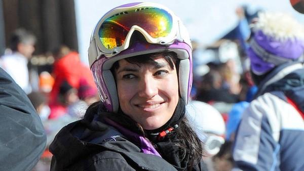 Irene Villa, campeona de España de esquí alpino adaptado en la modalidad de slalom