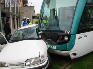 Accidentes con el Tram