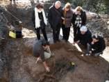 Los restos de Nicomedes Fern�ndez, en la fosa com�n de El �lamo