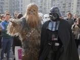 Darth Vader se presenta a las elecciones presidenciales de Ucrania