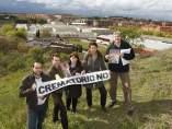Protestas contra el crematorio de Valdemoro