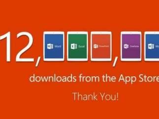 Imagen de Microsoft en Twitter.