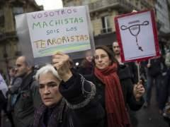 Protesta por el derecho al aborto