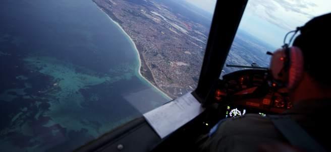 Búsqueda del avión desaparecido