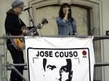 Amaral actúa en el homenaje por José Couso