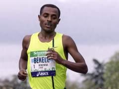 Kenenisa Bekele gana en París