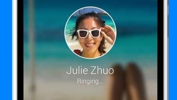 Opción de llamadas para Facebook