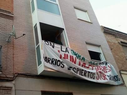 Uno de los tres pisos liberados en la calle Callejo (Puente de Vallecas)