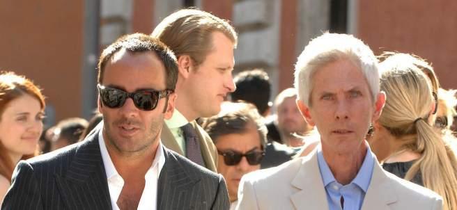 Tom Ford y Richard Buckley.