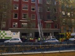 Desalojo en Madrid