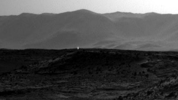 Imagen de Marte tomada el 3 de abril por el rover Curiosity