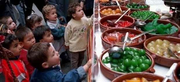 Niños y comida