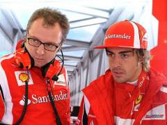 Domenicali y Alonso