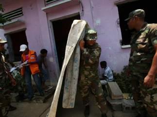Alerta roja extrema por terremoto en Nicaragua