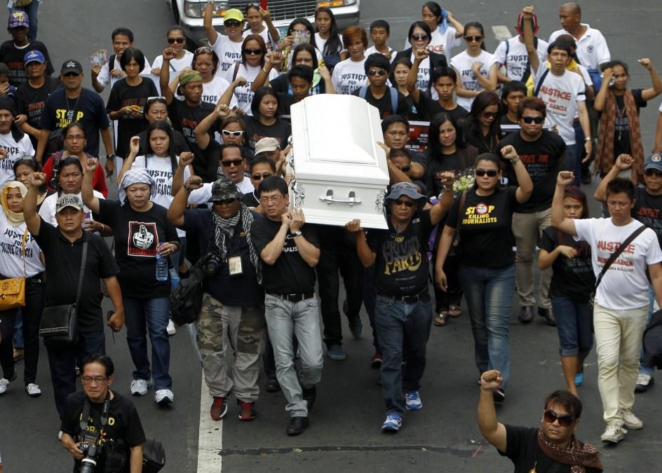 Otro periodista asesinado en Filipinas