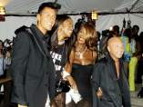 Domenico Dolce y Stefano Gabbana con Naomi Campbell