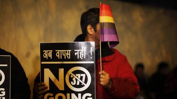 Activismo gay en la India