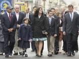 Homenaje a las víctimas del atentado de Boston