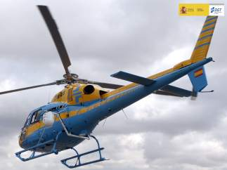 Helic�ptero con radar Pegasus operaci�n salida DGT