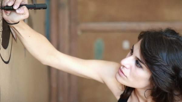 Milena, protagonista en el documental 'Supervivientes'