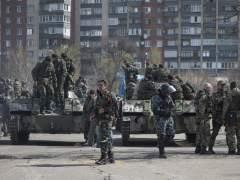 Carros blindados en Ucrania