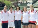Equipo español para la permanencia en la FedCup de tenis