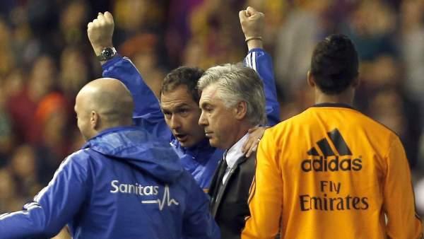 Primer título de Ancelotti