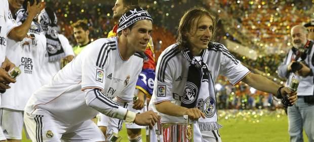 Primer gran momento de Bale con el Madrid