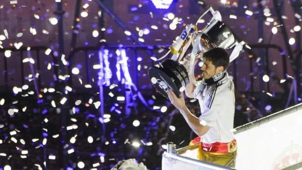 El Real Madrid ofrece la Copa a Cibeles