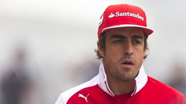 Fernando Alonso, en China