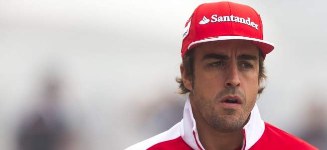 Fernando Alonso, en China