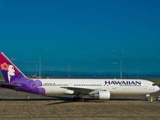 Avión de Hawaiian Airlines