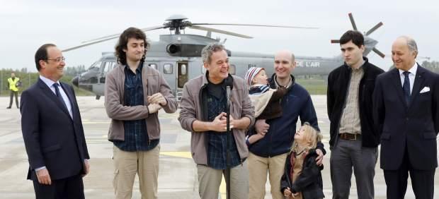 Periodistas franceses liberados