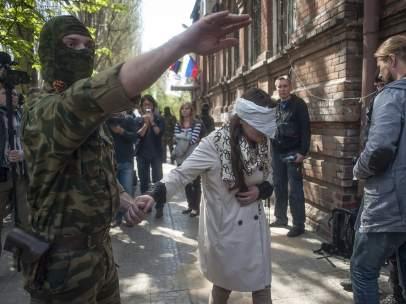 Los prorrusos se hacen fuertes en el este de Ucrania